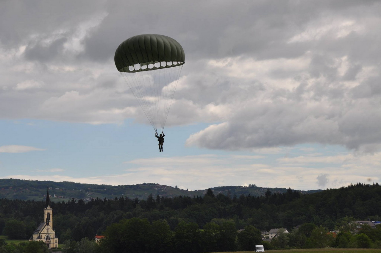 PARACHUTE JUMP EXERCISE (MAY 2016 Slovenia)