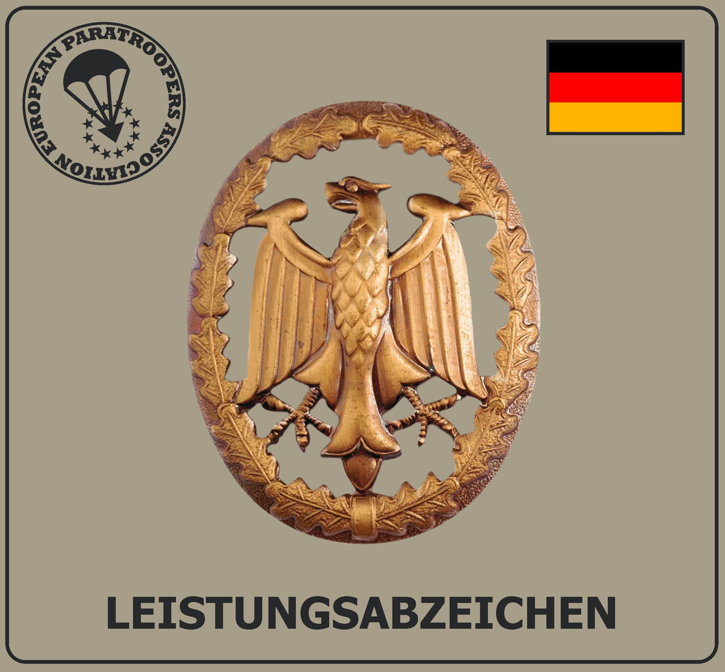 GERMAN ARMY PERFORMANCE BADGE