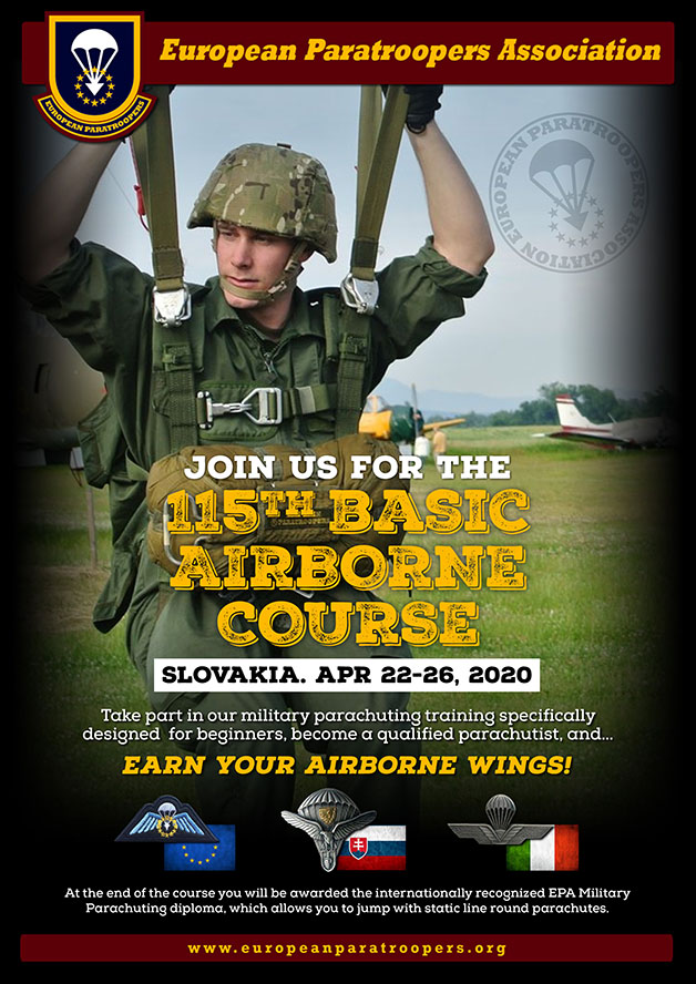 115th BASIC AIRBORNE COURSE