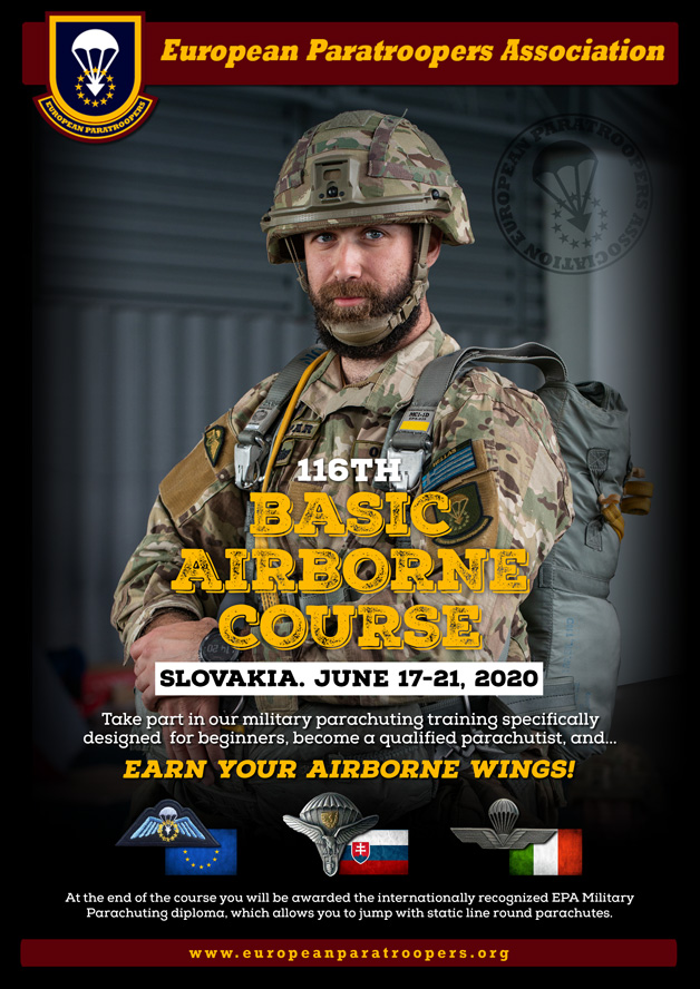 116th BASIC AIRBORNE COURSE