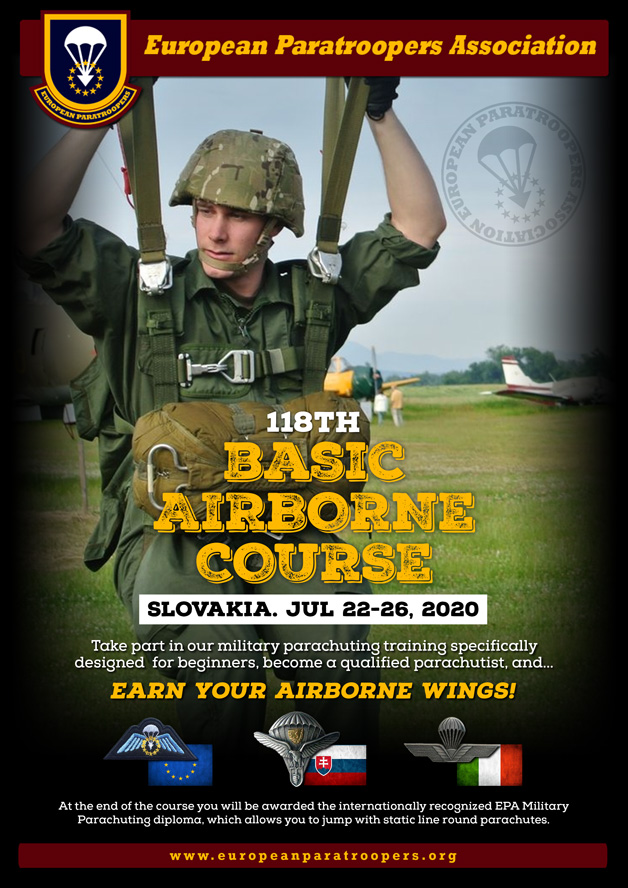 118th BASIC AIRBORNE COURSE