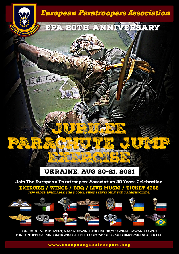 2021 JUBILEE Parachute Jump Exercise WEB