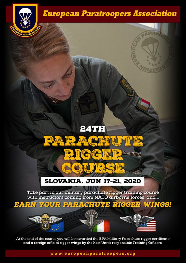 24th PARACHUTE RIGGER COURSE