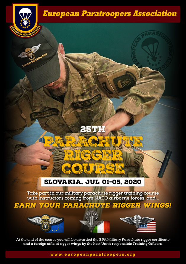 25th PARACHUTE RIGGER COURSE