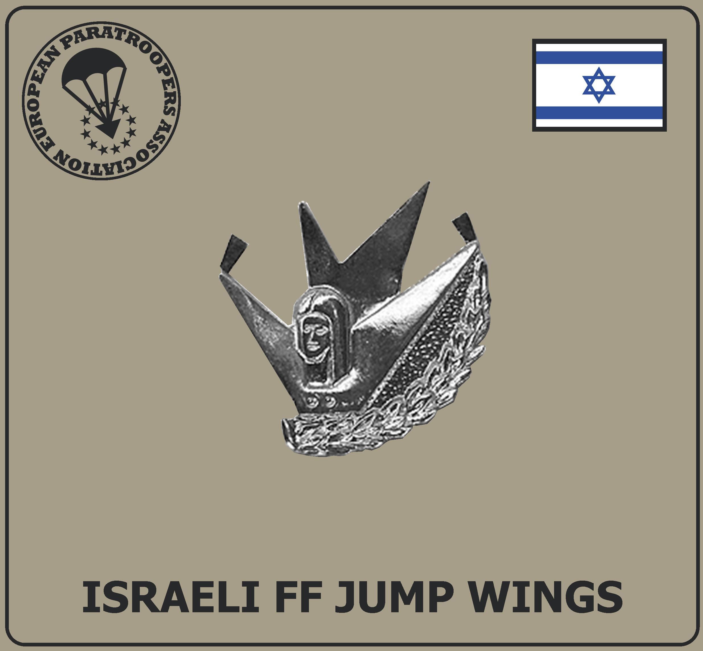 ISRAELI FF JUMP WINGS