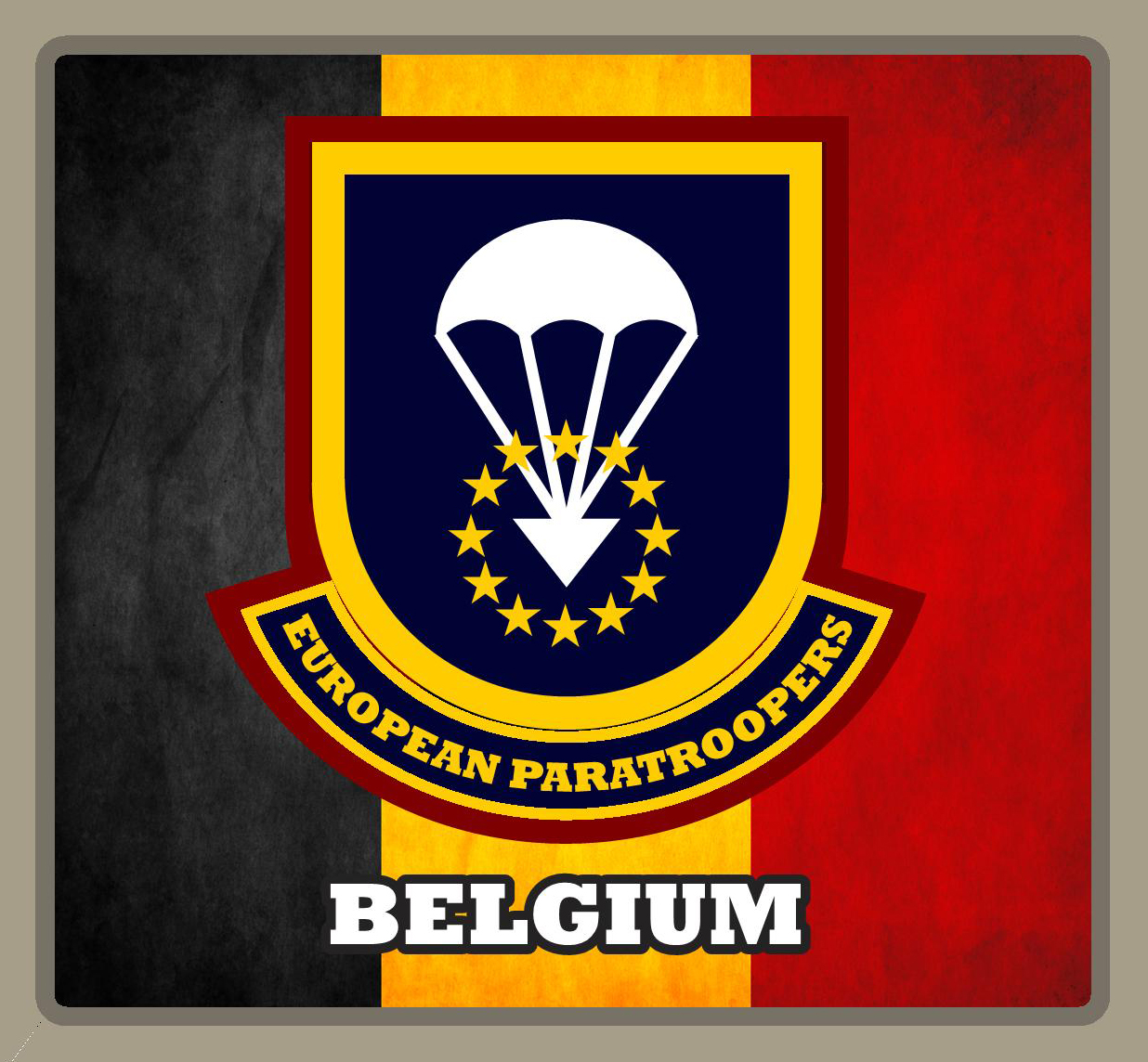 EUROPEAN PARATROOPERS BE 2017