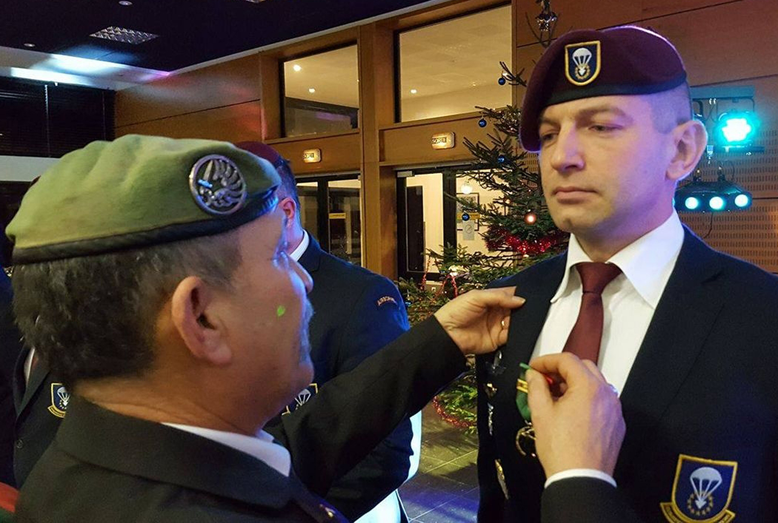 FOREIGN LEGION VETERANS DINNER