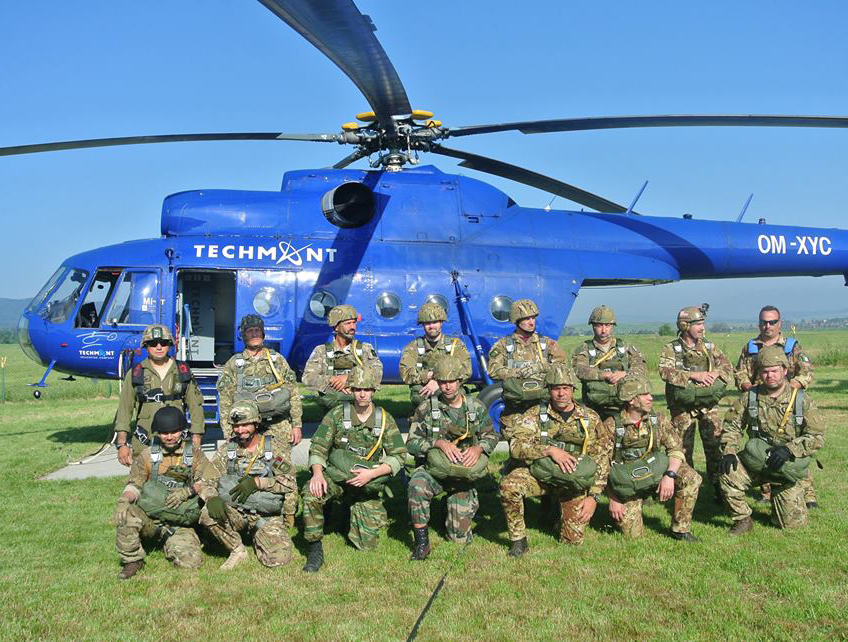 HELO JUMP EXERCISE 2015